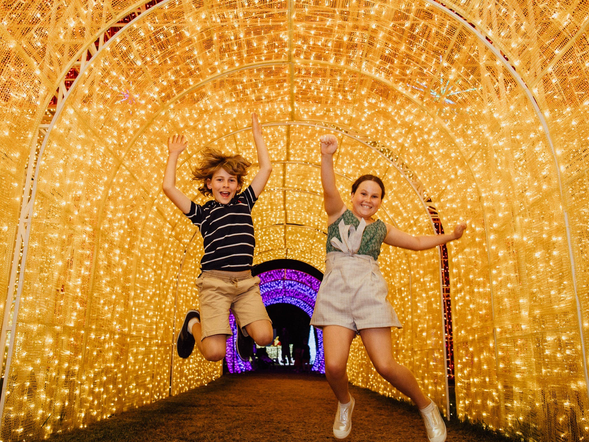 Christmas Lights Spectacular New Year's Eve at Hunter Valley Gardens - Accommodation Batemans Bay