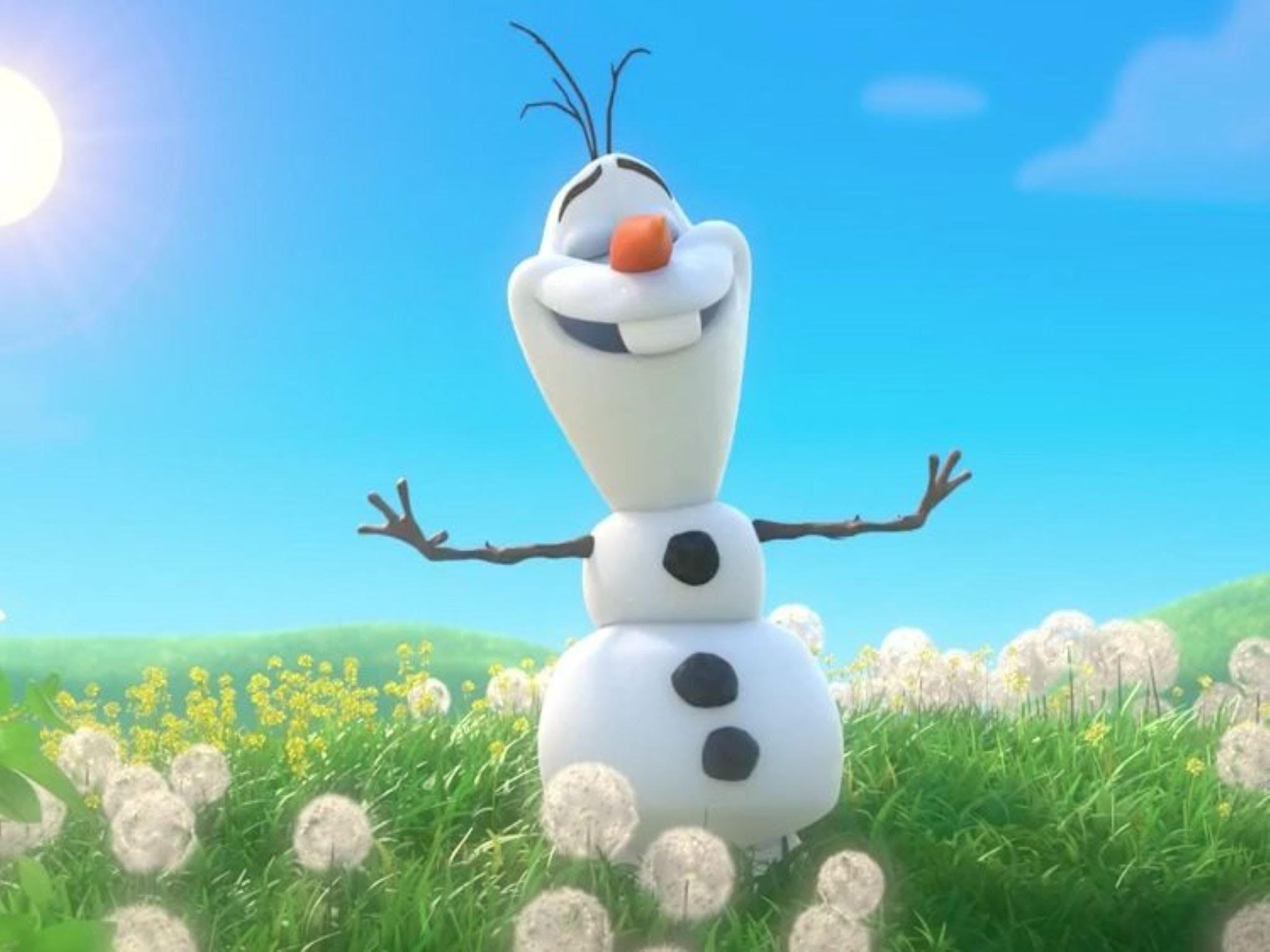 Meet Olaf from Frozen - Accommodation Batemans Bay