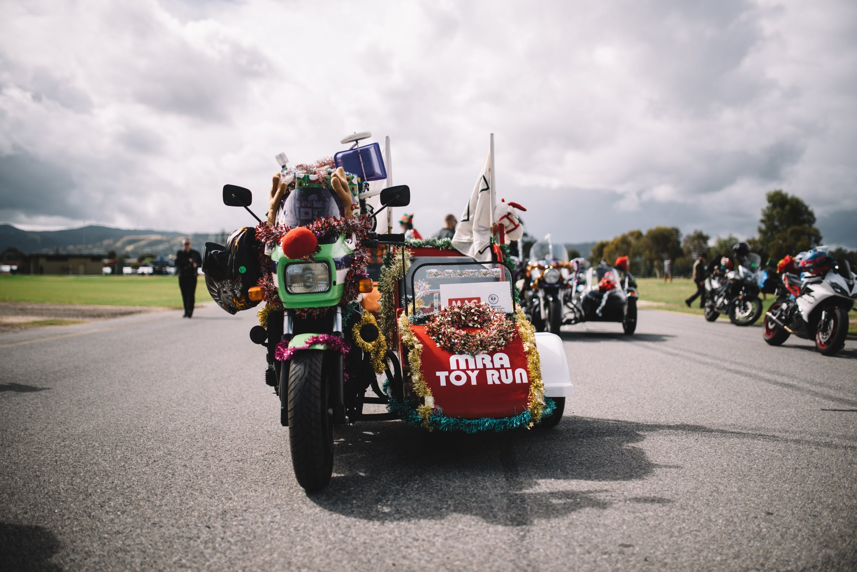 Motorcycle Riders' Association of South Australia Toy Run - Accommodation Batemans Bay