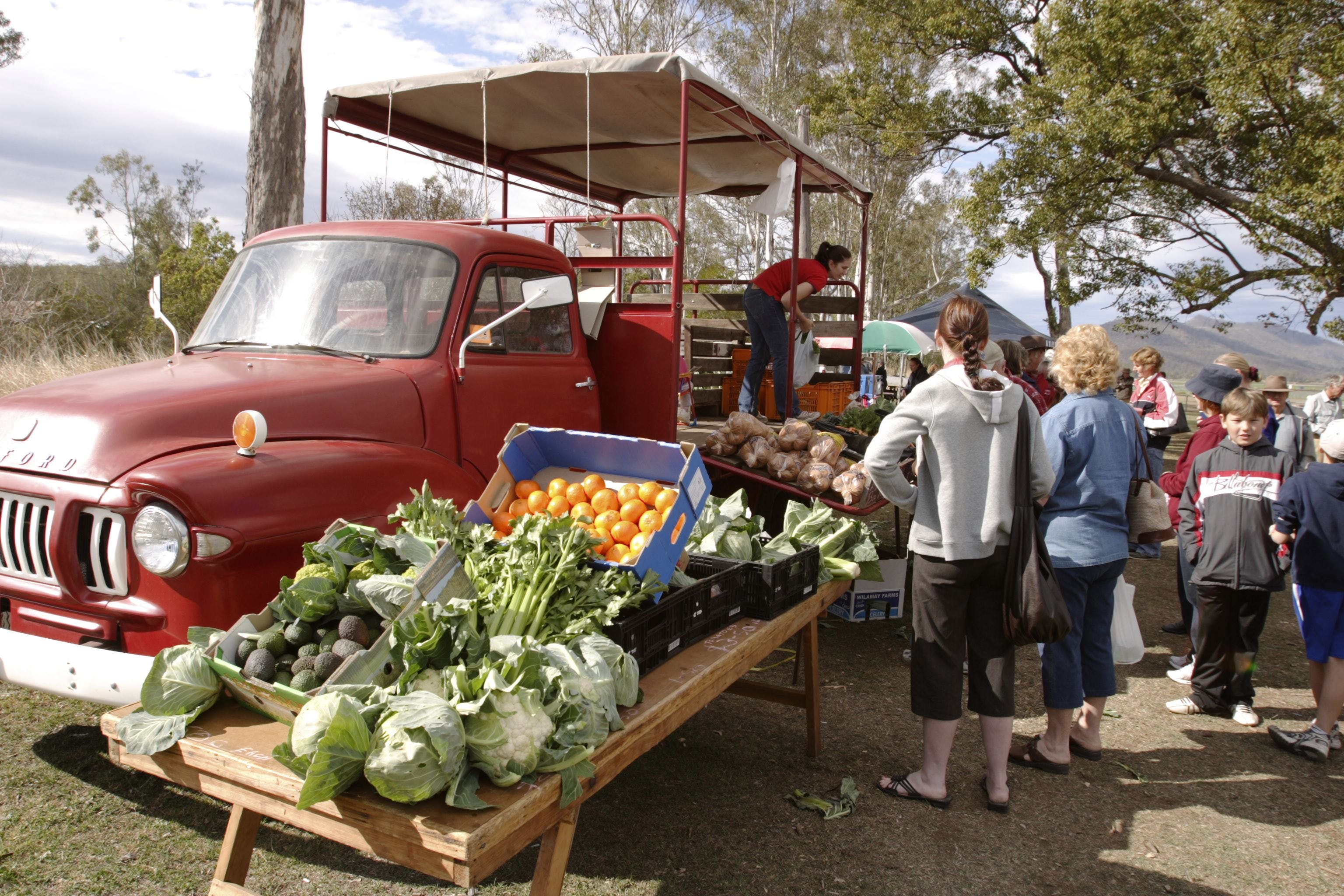 Murphys Creek Markets - Accommodation Batemans Bay