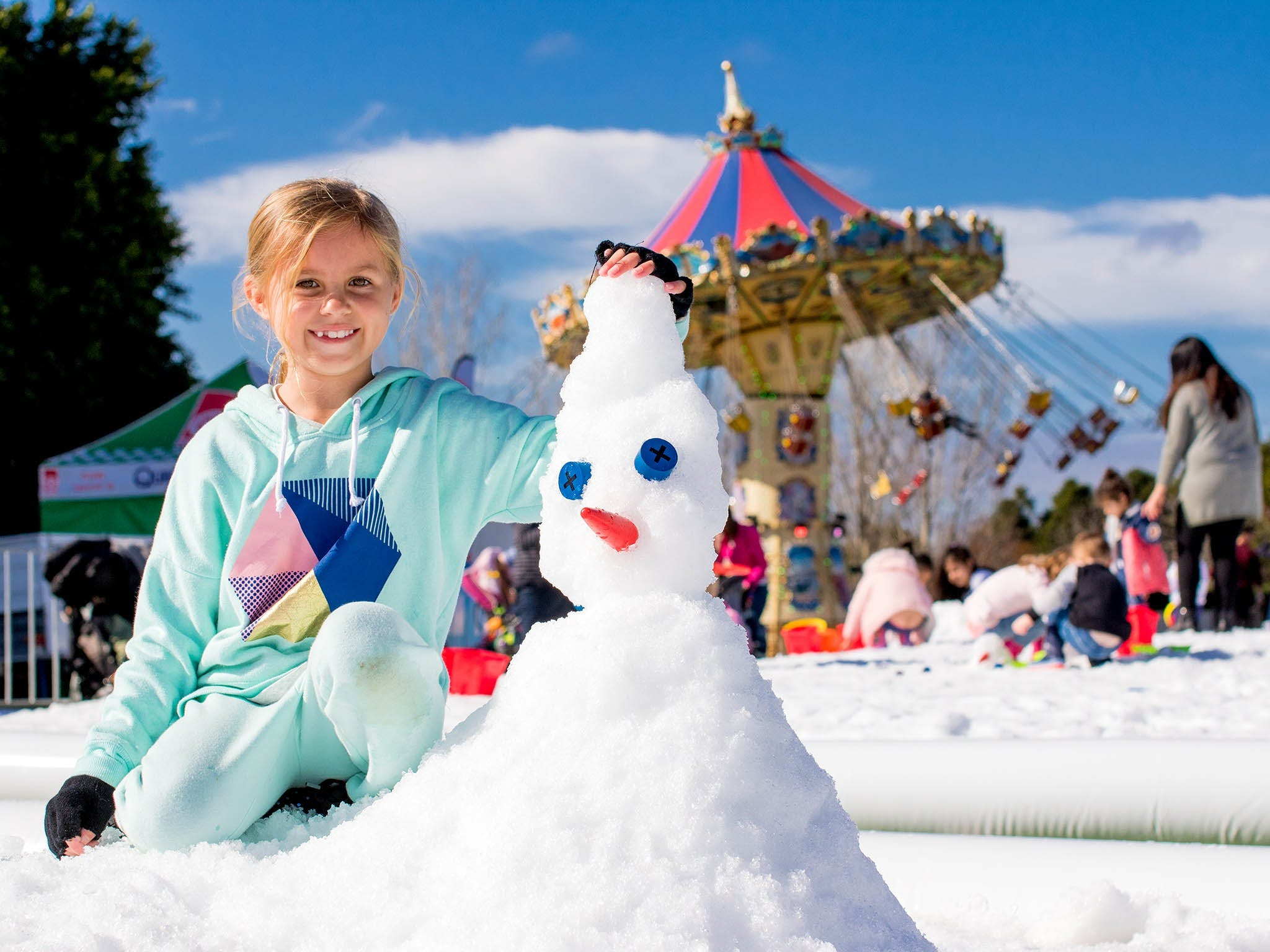 Snow Time in the Garden - Hunter Valley Gardens - Cancelled - Accommodation Batemans Bay