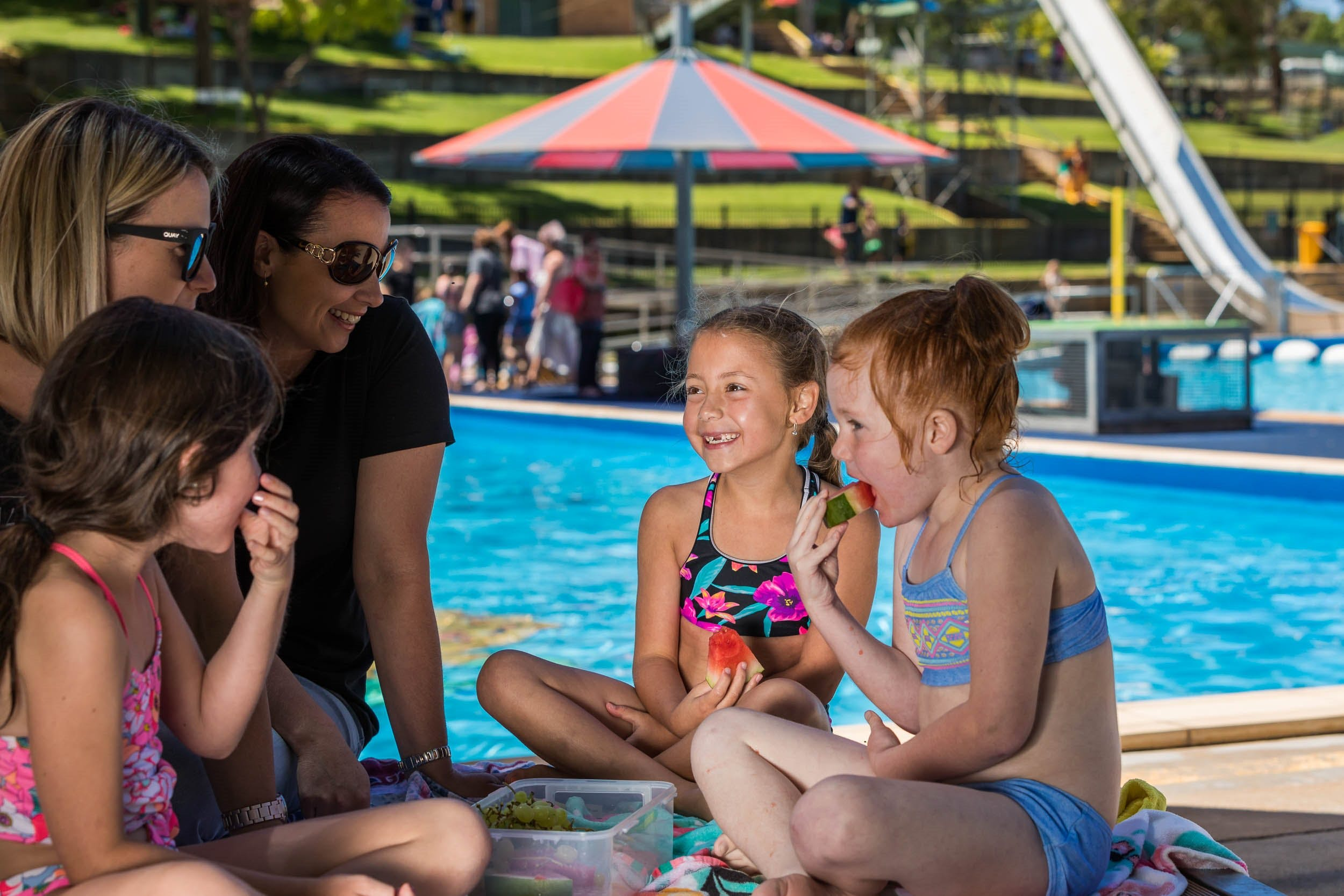 Australia Day fun at Lake Talbot Water Park - Accommodation Batemans Bay