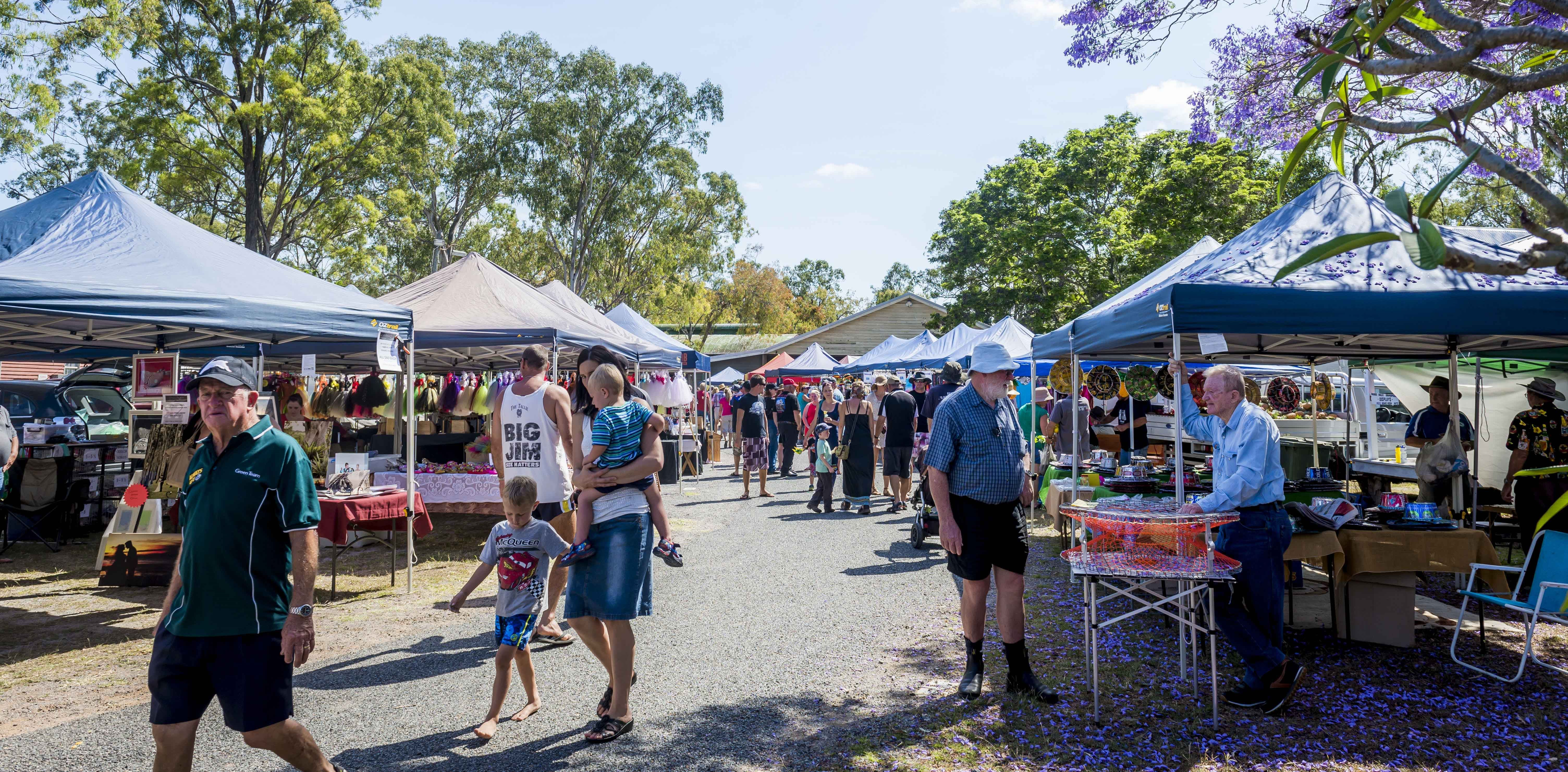Calliope Historical Village Markets - Accommodation Batemans Bay
