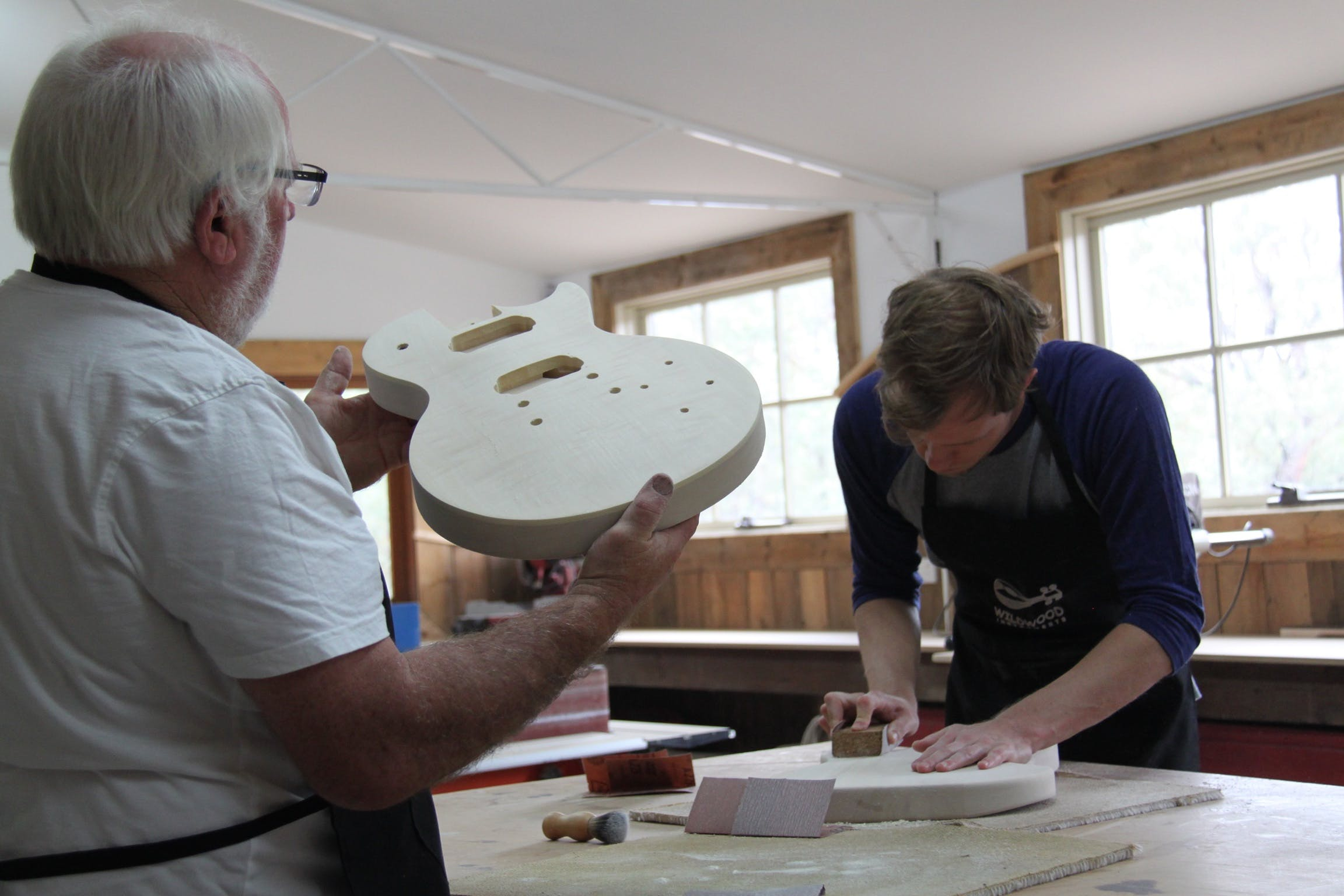 Electric Guitar Making Courses - Accommodation Batemans Bay