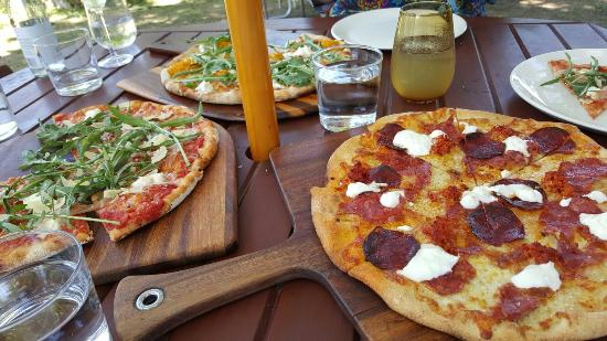 Bank Street Wood Fired Pizza and Gardens - Accommodation Batemans Bay