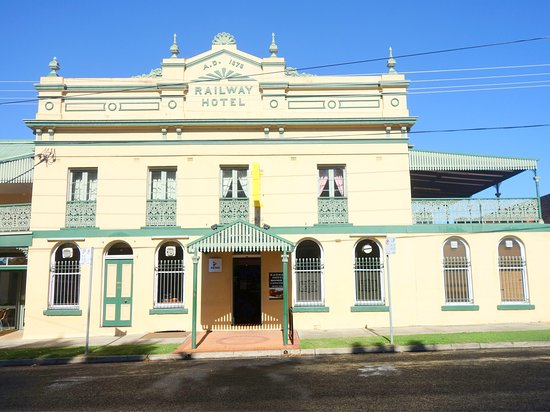 Railway Hotel Armidale  1879 Bistro - Accommodation Batemans Bay