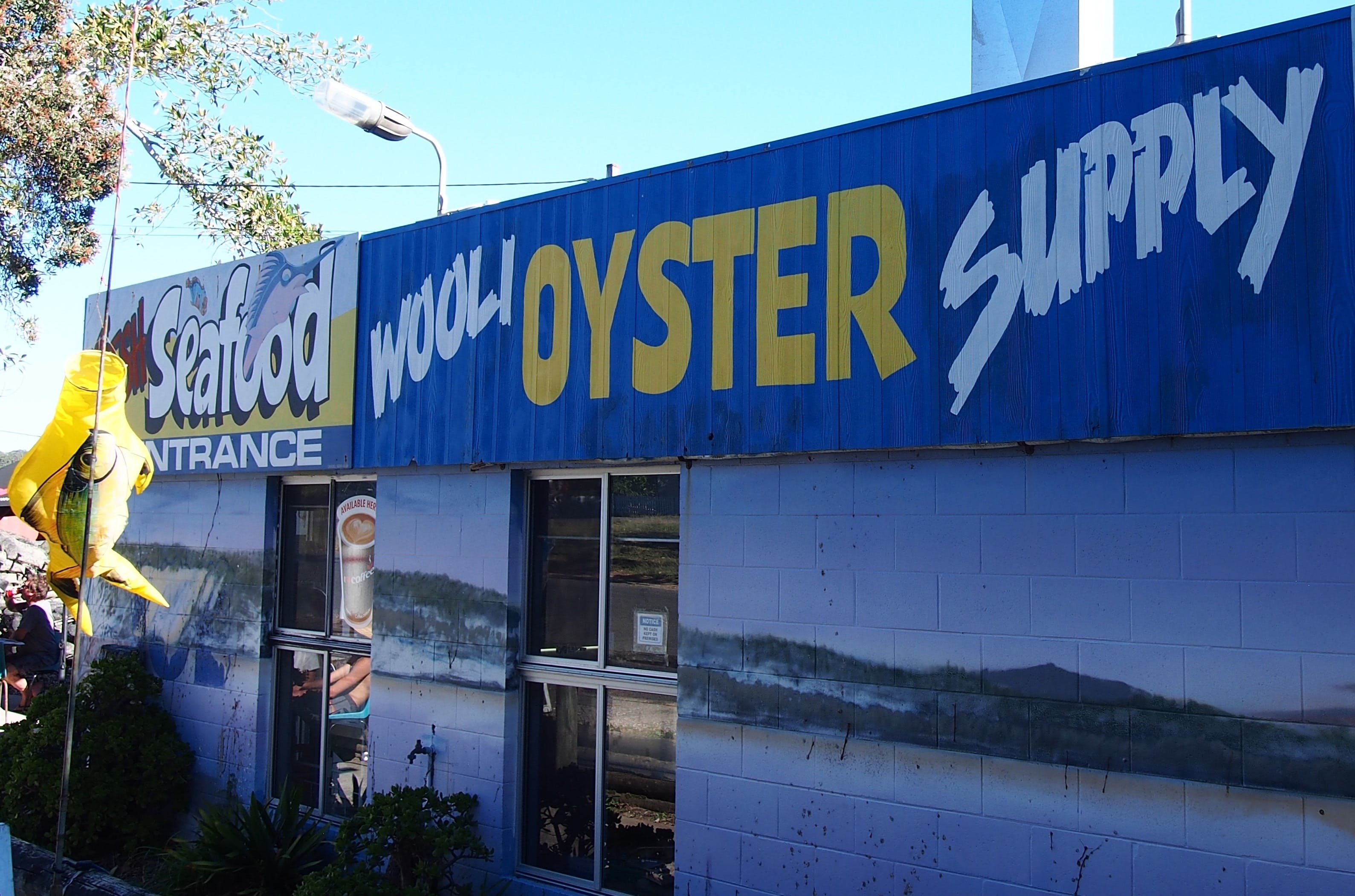 Wooli Oyster Supply and Seafood Co-op - Accommodation Batemans Bay
