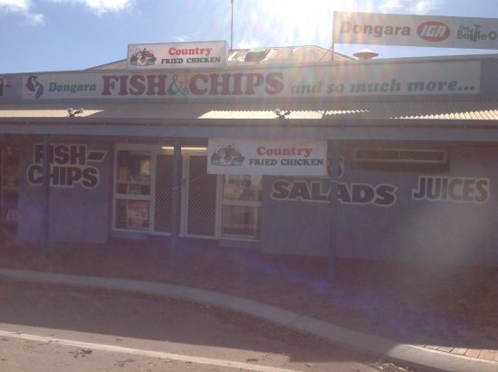 Dongara Fish  Chips - Accommodation Batemans Bay
