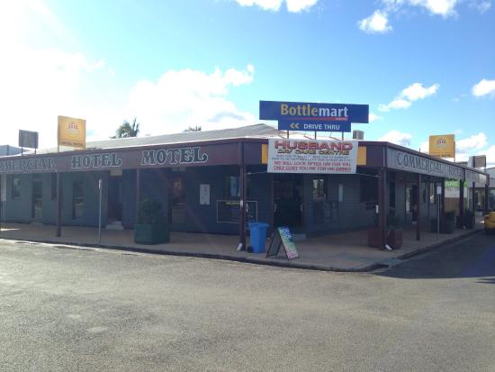 Commercial Hotel Motel Biggenden - Accommodation Batemans Bay